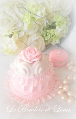 Le Boudoir de Louise (Gâteau en plâtre shabby)