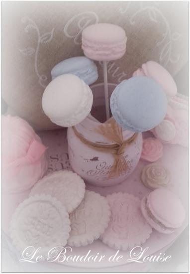 Le Boudoir de Louise (Sucette Macaron)