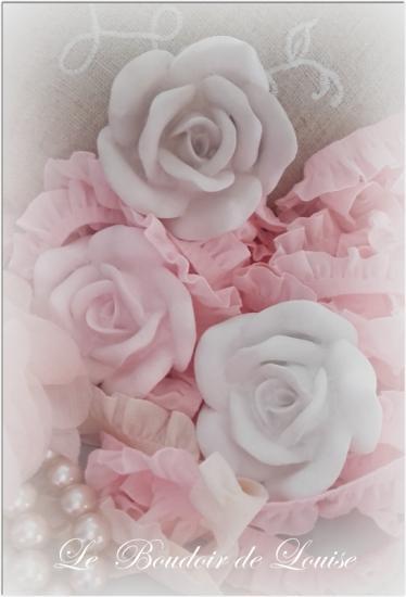 Le Boudoir de Louise (Roses en plâtre)