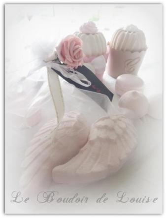 Le Boudoir de Louise (Ailes d'ange en plâtre )