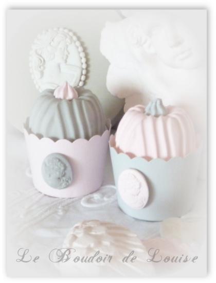 Le Boudoir de Louise (Cup cake en plâtre)