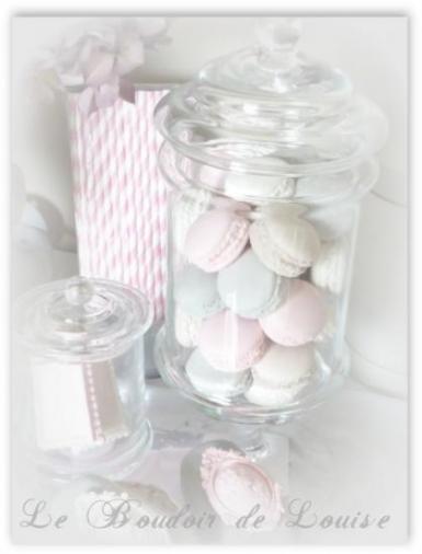 Le Boudoir de Louise (Macarons en plâtre Shabby)