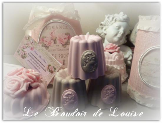 Le Boudoir de Louise (Cannelé avec camée)