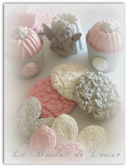 Le Boudoir de Louise (cookies en plâtre)