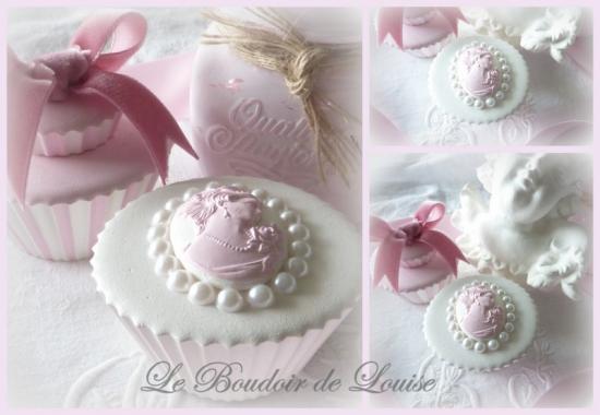 Le Boudoir de Louise (Mignardise perles et camée)