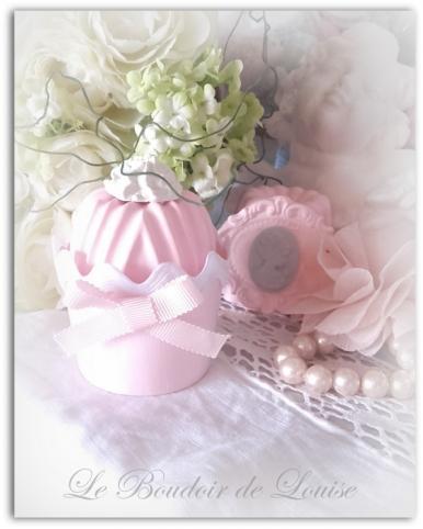 Le Boudoir de Louise (Cupcake croquet blanc)