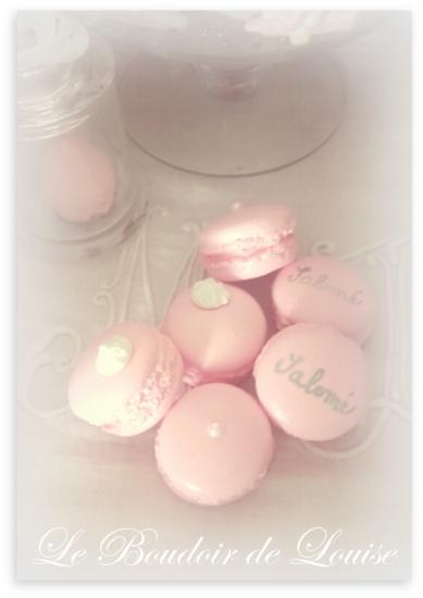 Le Boudoir de Louise (Macarons personnalisés)