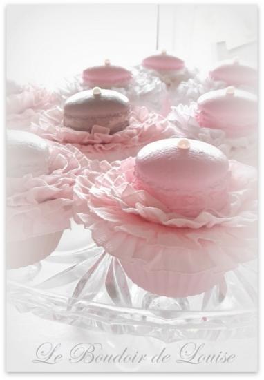 Le Boudoir de Louise (Cupcake macarons)