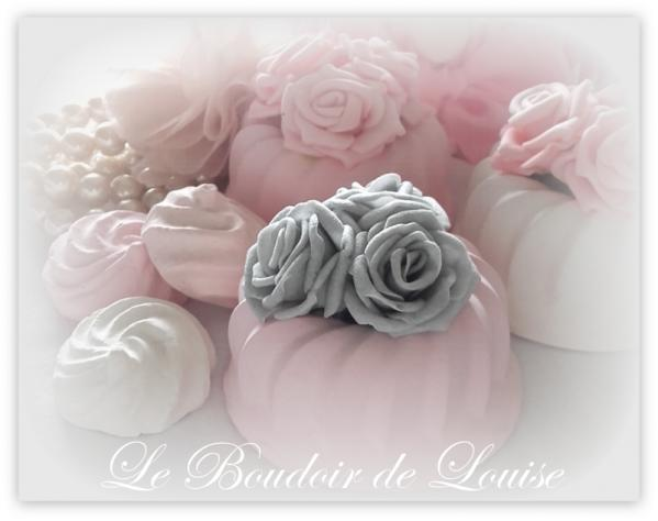 Le Boudoir de Louise (Cake fleuri de roses)