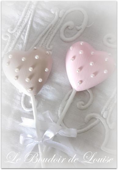 Le Boudoir de Louise (Sucette cœur et perles)