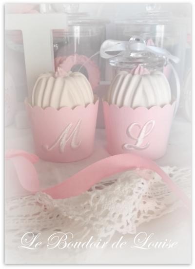 Le Boudoir de Louise (Cupcake monogramme)