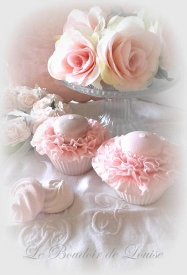 Le Boudoir de Louise (Cupcake en plâtre