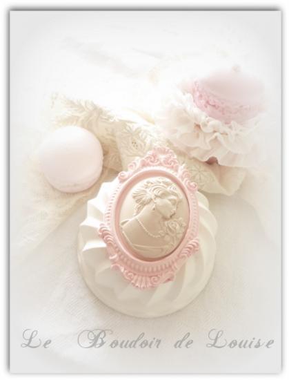 Le Boudoir de Louise (Cake grand camée marquise)