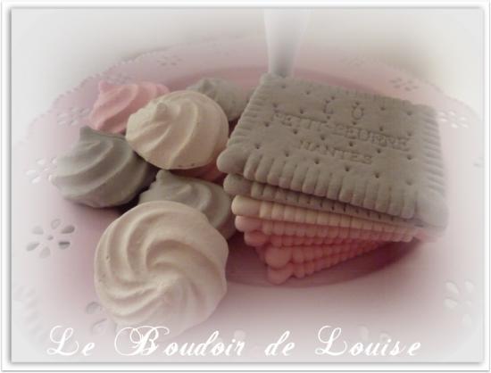 Le Boudoir de Louise (Meringue et petit beurre)