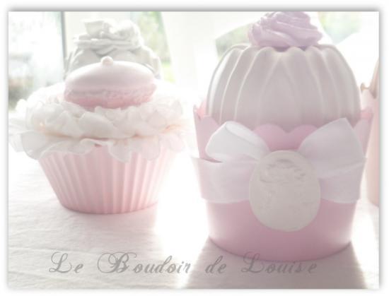 Le Boudoir de Louise (Cupcake en plâtre)