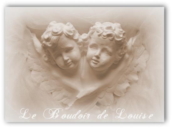 Le Boudoir de Louise (Angelots en plâtre)