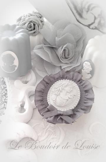 Le Boudoir de Louise (Décoration en plâtre Shabby)