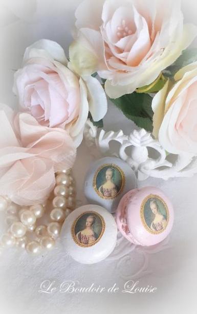 Le Boudoir de Louise  (Macaron Marie-Antoinette)