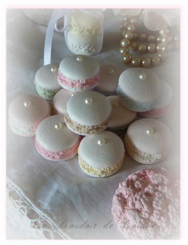 Le Boudoir de Louise (Macarons Gourmands façon Ladurée)