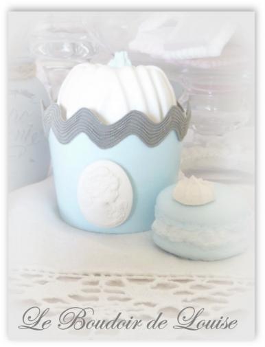 Le Boudoir de Louise (Cupcake croquet gris)